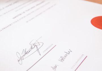 Digitaal ondertekenen koopakte