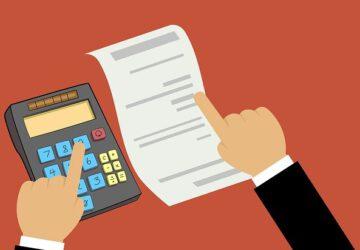 Wat staat er op de afrekening van de notaris?