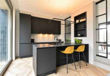 keukentrend 2021 Zwarte keuken