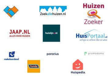 Huizensites Nederland overzicht