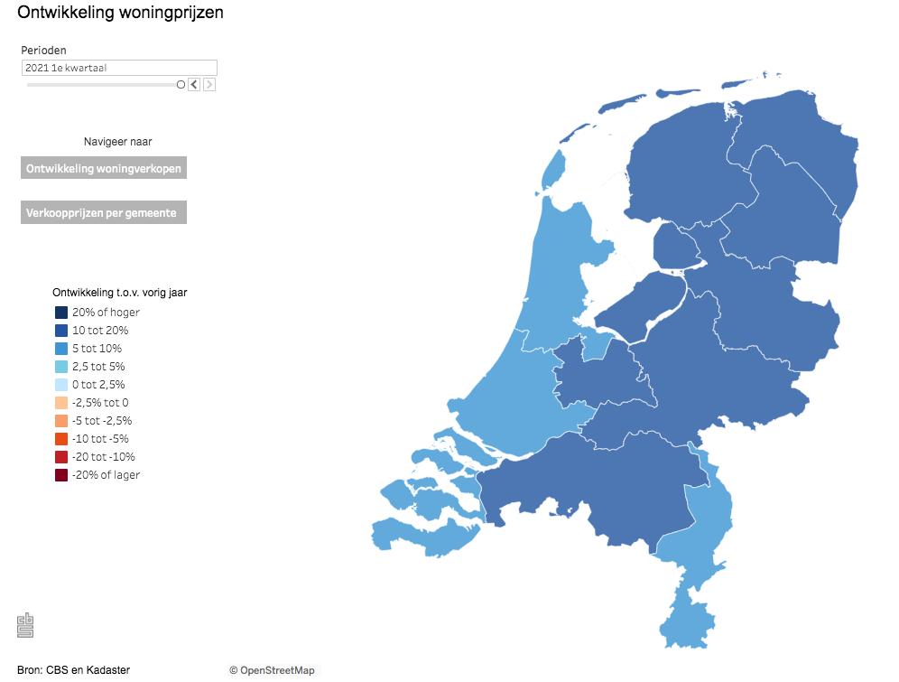 Huizenmarkt Nederland